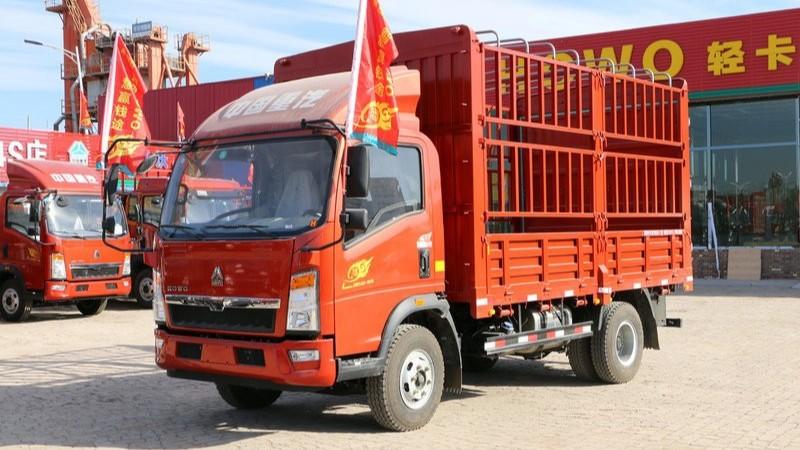 豪沃轻卡6.8米_中国重汽HOWO 悍将 170马力 4.2米轻卡载货车4×2
